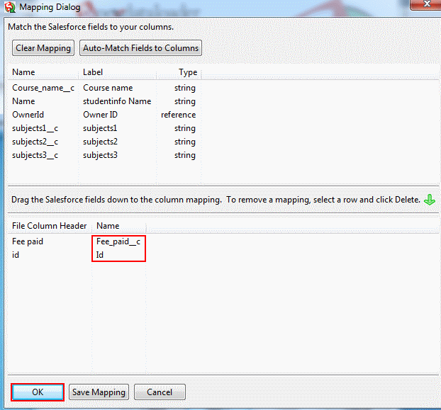 Data Loader Update | How to Update fields by Data Loader