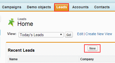 What is a Lead in Salesforce.com ?