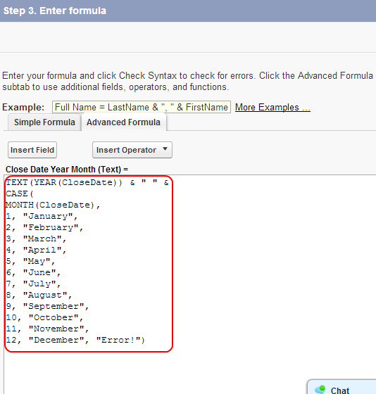 Salesforce Automation Examples |Deriving Year, Month values