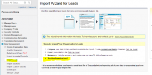 import leads