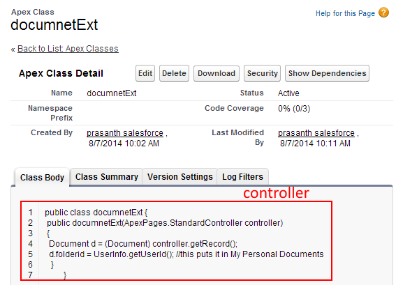 Visualforce apex:inputfile Tag