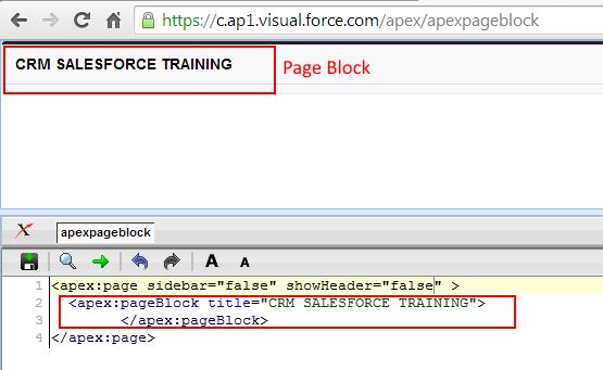Visualforce pageBlock Tag