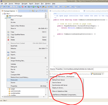 How to use force com IDE - Salesforce Tutorial