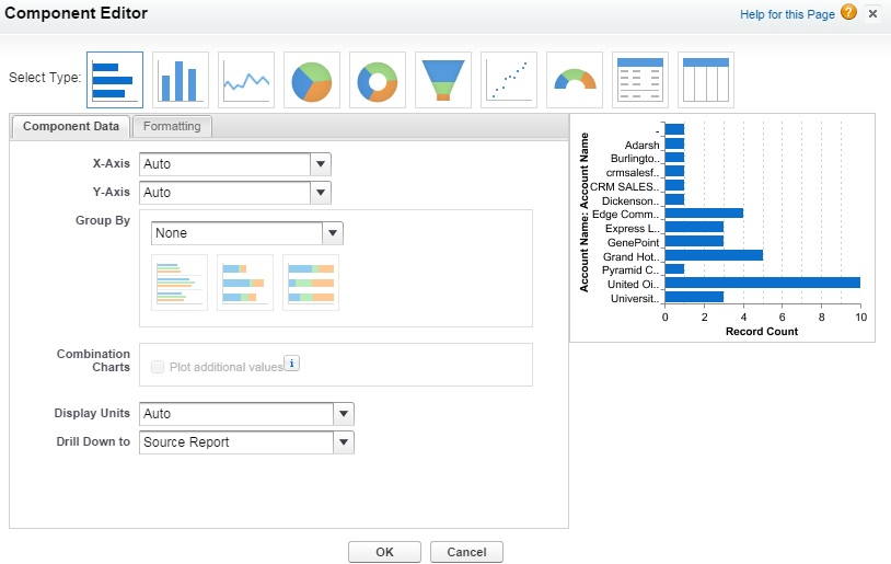 How to create new Salesforce Dashboards
