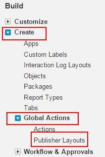 how to add thanks button in chatter publisher2
