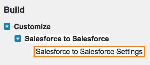 What is Salesforce to Salesforce ?